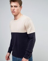 french-connection-crew-neck-color-block-knitted-sweater