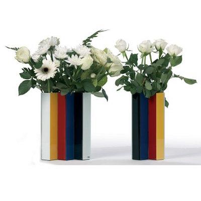 Mondrian inspired line up vase metziahs for Mondrian vase