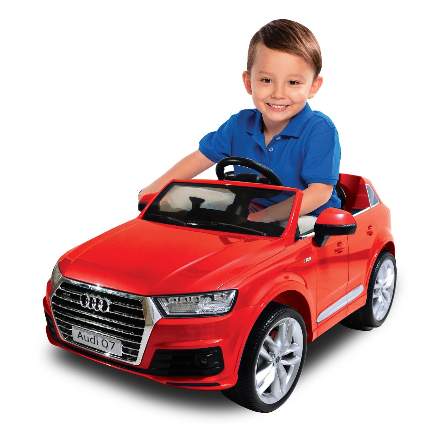 Audi Q7 One Seater Car, Red