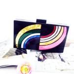Milanblocks_Black_Rainbow_Lucite_Box_Evening_Clutch_2