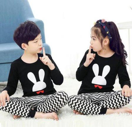 Boy Girl Matching Pajamas - Metziahs 51d5cc9c6